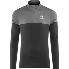 Odlo Core Light Koszulka do biegania z długim rękawem Mężczyźni szary/czarny